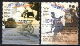"""ISRAELE - 1997 - """"MACHAL,"""" Overseas Volunteers - MNH - Nuovi (con Tab)"""