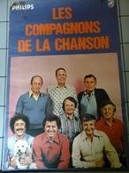 Affiche - Les Compagnons De La Chanson  Avec Pub Philips - Affiches & Posters