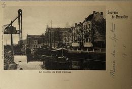 Bruxelles // Le Casernes Du Petit Chateau (schip) Ca 1900 - Brüssel (Stadt)