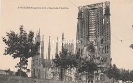 Spain BARCELONA Iglesia De La Sagrada Famillia Gaudi Sp341 - Barcelona
