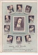 Chromo / ENVOI DES DOUZE (Jésus, Apôtres) / FROM THE LORD'S SUPPER BY LEONARDO DA VINCI - Otros