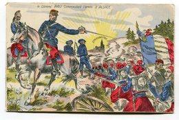 CPA Militaria : Général PAU   Alsace Et Strasbourg Drapeau De Magenta Et Solférino   VOIR DESCRIPTIF  §§§ - Guerres - Autres