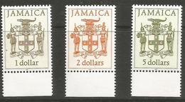 Jamaica - 1997 Coat Of Arms MNH **   SG 690aB-692aB - Jamaica (1962-...)