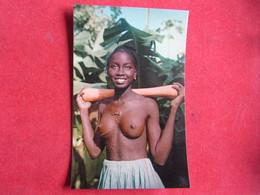 Guinea - Guiné Portuguesa - Rapariga Papel Tatuada - Biombo - Guinea-Bissau