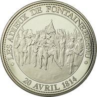 France, Médaille, Napoléon Ier, Adieux De Fontainebleau (1814), FDC - France
