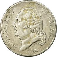Monnaie, France, Louis XVIII, 5 Francs, 1817, Rouen, TB+, Argent - France