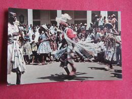 Guinea - Guiné Portuguesa - Dançarino Mandinga - Farim - Guinea-Bissau
