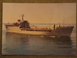 HMS SIR GALAHAD - LARGE CARD - Warships