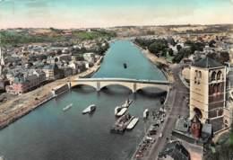 Huy - Le Pont Baudouin Avec La Collégiale Notre-Dame - Hoei