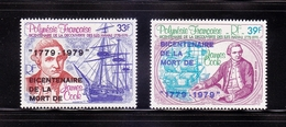 FRENCH POLYNESIA 1979 Bicentenary Of Death Of Captain James Cook, Complete Set, Superb MNH, Cat £10.25 - Neufs