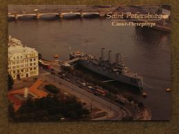 CRUISER AURORA ON RIVER NEVA, ST PETERSBURG - Warships