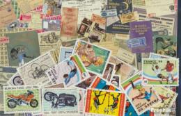 Burkina Faso Briefmarken-25 Verschiedene Marken - Burkina Faso (1984-...)