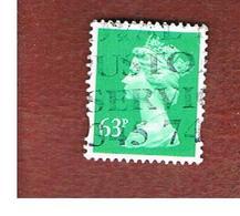 GRAN BRETAGNA (UNITED KINGDOM) -  SG X1732  -  1996 QUEEN ELIZABETH II  63       - USED° - Oblitérés
