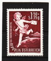 LAK563 ÖSTERREICH 1952 Michl 972 TAG Der BRIEFMARKE  ** Postfrisch Siehe ABBILDUNG - 1945-60 Ungebraucht
