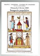 IMAGERIE POPULAIRE CATALOGUE DE VENTE DU 2 FEVRIER 2003 A CHARTRES 611 OEUVRES DECRITES - Popular Art