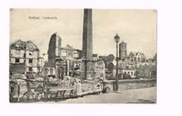 Rethel,Frankreich.Ruines.Expédié En Feldpost à Hagenau Bei Strassburg. - Rethel
