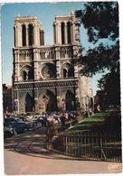 Paris: CITROËN 2CV, FORD VEDETTE, SIMCA 5 / FIAT TOPOLINO - Cathédrale Notre-Dame - Toerisme