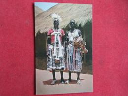 Guinea - Guiné Portuguesa - Tocador E Bailarino Mandingas - Farim - Guinea-Bissau