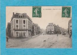 Fougères. - Place De La Gare. - Hôtel De L'Ouest. - Fougeres