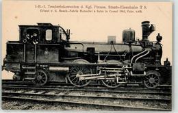 52956204 - 1 B 1 Tenderlokomotive Preuss. Staatsbahn T 5 - Trains