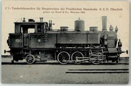52956244 - C 1 Tenderlokomotive Fuer Bergstrecken Preuss. Staatsbahn - Trains