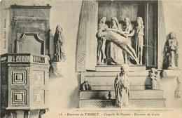 ENVIRONS DU FAOUET CHAPELLE ST NICOLAS DESCENTE DE CROIX - Le Faouet