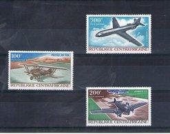 Centrafrique. Poste Aérienne. Avions - Centrafricaine (République)