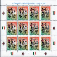 PIA - ITALIA - 1999 :  Campionato Italiano Di Calcio - Scudetto Al Milan - MINIFOGLIO - (SAS  Mf 1) - Calcio