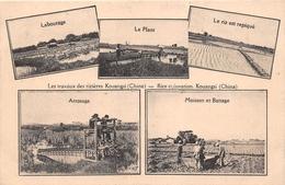 ¤¤  -    CHINE   -  Les Travaux Des Rizières KOUANGSI  -  Rice Cultivation  -  Multivues    -  ¤¤ - China