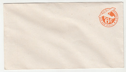 US Air Mail 6c Postal Stationery Letter Cover Unused B190415 - 1941-60
