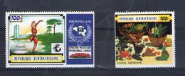 Centrafrique. Poste Aérienne. Exposition Philatélique à Knokke Le Zoute - Centrafricaine (République)