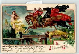 52957544 - Die Jagd Nach Dem Glueck Frau Erotik Pferd - Postales