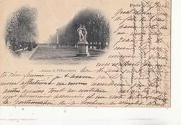 CPA Paris- Avenue De L'Observatoire  - Carte Précurseur  :  Achat Immédiat - Otros Monumentos