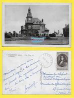 CPA FARGNIERS 02 ֎  PLACE DE LA MAIRIE ֎ 1949 OBlitération TERGNIER - France