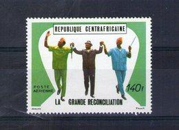 Centrafrique. Poste Aérienne. La Grande Réconciliation - Centrafricaine (République)