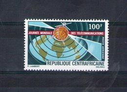 Centrafrique. Poste Aérienne. Journée Mondiale Des Télécommunications - Centrafricaine (République)