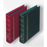 Ringbinder OPTIMA, In Classic Design, Red - Stockbooks