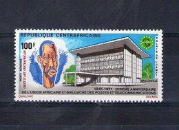 Centrafrique. Poste Aérienne. 10eme Anniversaire De L'UAMPT - Centrafricaine (République)
