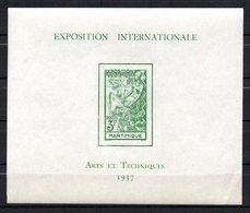 Col 13 / Martinique N°  BF 1 BF1  Neuf  XX MNH  Cote 20,00€ - Martinique (1886-1947)