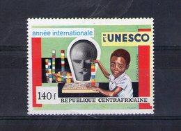 Centrafrique. Poste Aérienne. 25eme Anniversaire De L'UNESCO - Centrafricaine (République)