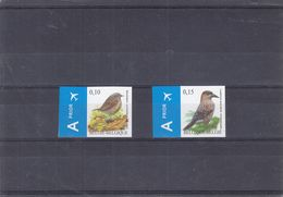 Oiseaux - Cassenoix - Mouchet - Belgique - COB 3749 / 50 ** - NON Dentelé - Valeur 100 Euros - Moineaux