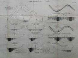 ANNALES DES PONTS Et CHAUSSEES (Dep 31) - Plan Hydraulique De La Garonne - E.Pérot - 1882 (CLD81) - Zeekaarten