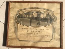 Cointreau Publicité Boules De Fort Beaulieu Sur Layon Challenge Cointreau 1939 Pétanque Boule Fanny - Publicité