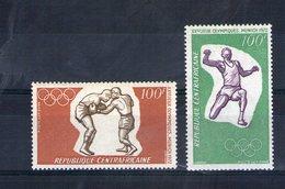Centrafrique. Poste Aérienne. Jeux Olympiques De Munich - Centrafricaine (République)
