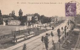 LILLE VUE PANORAMIQUE SUR LE NOUVEAU BOULEVARD - Lille
