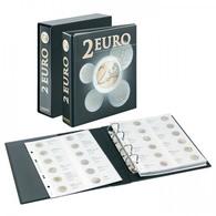 Lindner 3535E2 PUBLICA M 2 Euro-Vordruckalbum, Band 2 (chronologisch Ab Italien 2015) Mit Schutzkassette - Supplies And Equipment
