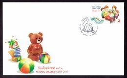 Thailand 2017, National Children's Day, FDC - Thailand