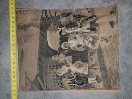 Scene Sur Soie - Rugs, Carpets & Tapestry