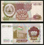Tajikistan 1000 Rubles 1994 UNC - Turkmenistán