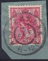 1899 Grootrondstempel RIDDERKERK Op Koningin Wilhelmina 5 Ct Rood NVPH 60 - Poststempels/ Marcofilie